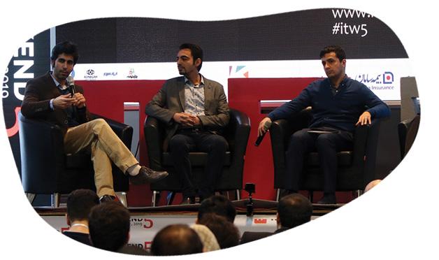 پنل تخصصی استارتاپ های موفق پنجمین جشنواره فناوری اطلاعات کشور