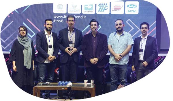 پنل تخصصی استارتاپ های نوپا ششمین جشنواره فناوری اطلاعات کشور